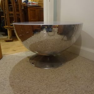 Glitterball coffee table